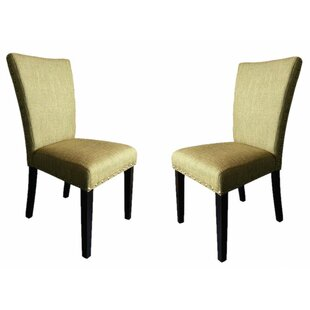 Latitude Run Zoey Upholstered Side Chair (Set of 2)