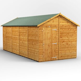 8 Ft. W X 18 Ft. D Solid Wood Garden Shed By WFX Utility