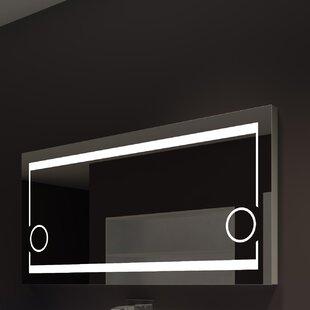 Paris Mirror Aurora Illuminated Bathroom/Vanity Wall Mirror