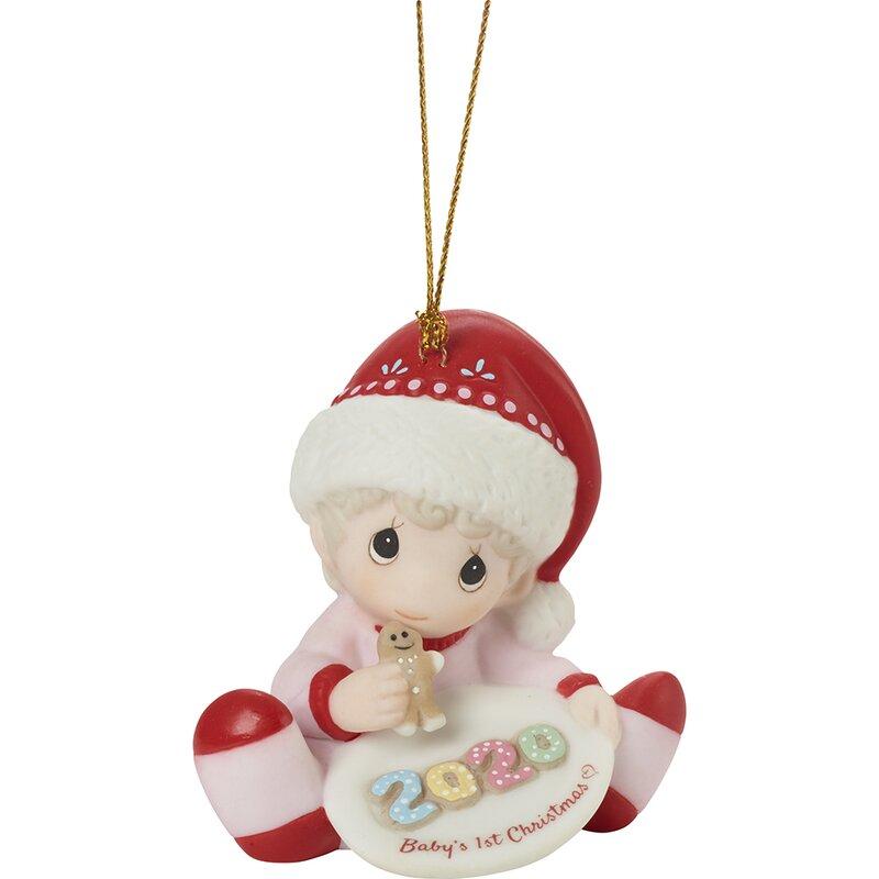 Precious Moments Babys 1st Christmas 2020 Precious Moments Baby's 1St Christmas 2020 Dated Girl Bisque