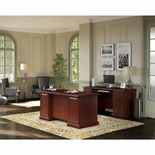 Bennington 2 Piece Office Suite by Kathy Ireland Home Bush Furniture Wonderful