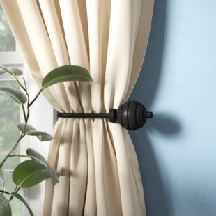 Tang Curtain Holdback (Set of 2) by Alcott Hill