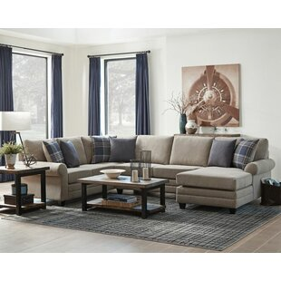 Red Barrel Studio Buse Reversible Sectional with Ottoman