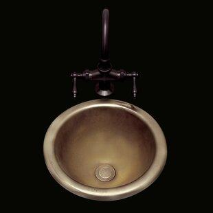Online Reviews Donna Ceramic Circular Drop-In Bathroom Sink with Overflow ByBates & Bates