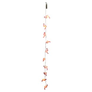 Best Dorian Flamingo 10 Light Novelty String Lights By The Holiday Aisle