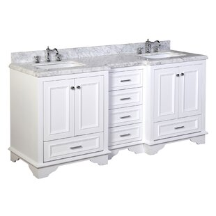 Compare Nantucket 72 Double Bathroom Vanity Set By Kitchen Bath Collection