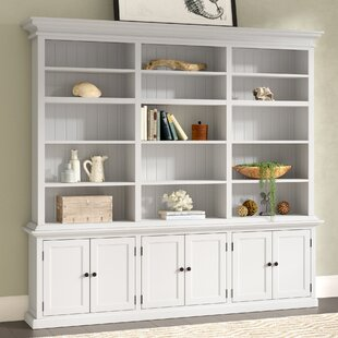 Amityville Library Bookcase by Beachcrest Home Discount