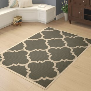 Larson Gray/Beige Indoor/Outdoor Area Rug