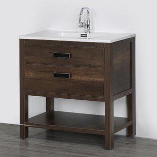 Online Reviews 32 Single Bathroom Vanity Set ByStreamline Bath