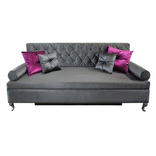Glamour 3 Seater Sofa Bed By Happy Barok