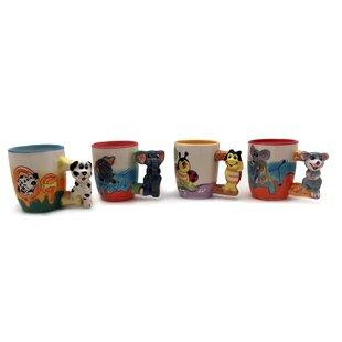 Rachelle Animal Coffee Mug Set (Set of 5)