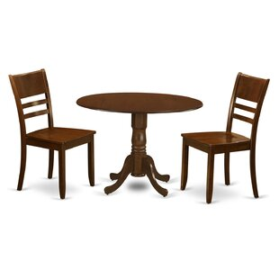 Spruill 3 Piece Dining Set August Grove
