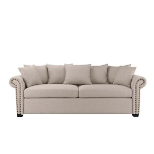 Dunnstown Classic Scroll Arm Standard Sofa by Charlton Home