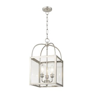 Brundidge 3-Light Semi Flush Mount by Alcott Hill