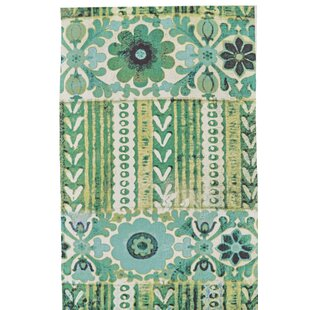 Elinore Hand Woven Emerald Indoor/Outdoor Area Rug