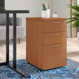 Under Desk 3 Drawer Filing Cabinet By Brayden Studio