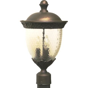 Great Price Phillipstown 3 Light 18.5 Post Lantern By Alcott Hill