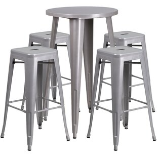 Colbert 5 Piece Bar Height Dining Set by ..