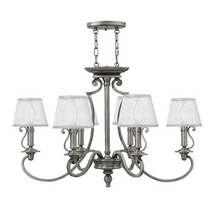 Alcott Hill Kenny 6-Light Shaded Chandelier