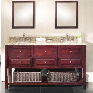 New Style Berlin 60 Double Bathroom Vanity Set ByOve Decors