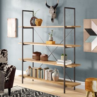 Caitlyn Etagere Bookcase by Union Rustic Spacial Price