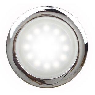 SteamSpa White LED Bath Sconce by Steam Spa