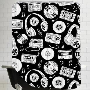 Charming Music Shower Curtain