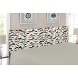 Jurassic Queen Upholstered Panel Headboard by East Urban Home