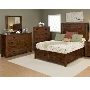 Whitfield King Panel Bed Configurable Bedroom Set by Loon Peak Great Reviews
