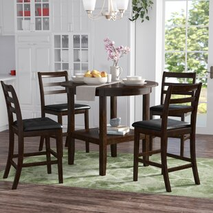 Gosselin 5 Piece Counter Height Dining Set Alcott Hill