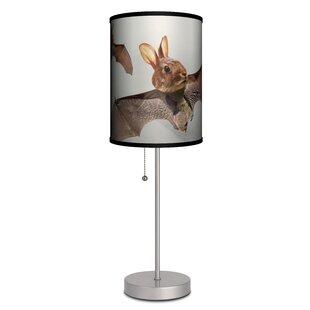 Bunny rabbit table lamps wayfair ouzts rabbit bat 19 table lamp aloadofball Choice Image