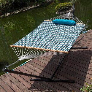 Lazy Daze Double Tree Hammock with Stand