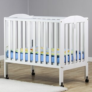 Dream On Me 2 In 1 Portable Folding Convertible Mini Crib U0026 Reviews |  Wayfair