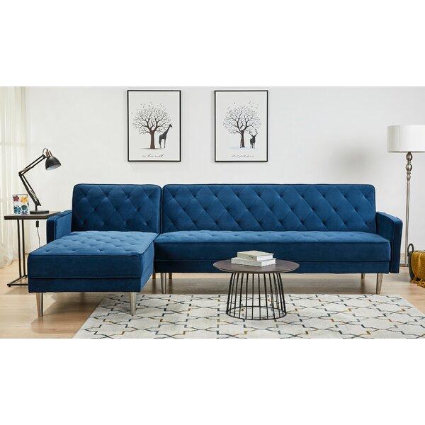Navy Blue Sectional Sofa | Wayfair.ca