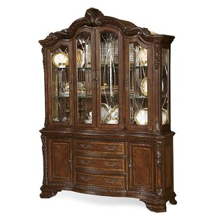 Brussels Lighted China Cabinet by Astoria Grand Spacial Price