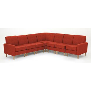 Gatton 7 Piece Mid Century Modular Sectional