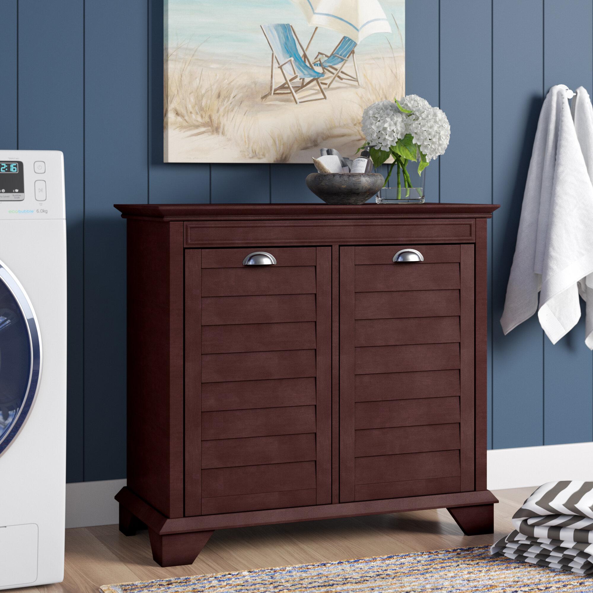 Three Posts Crenshaw Cabinet Laundry Hamper Reviews