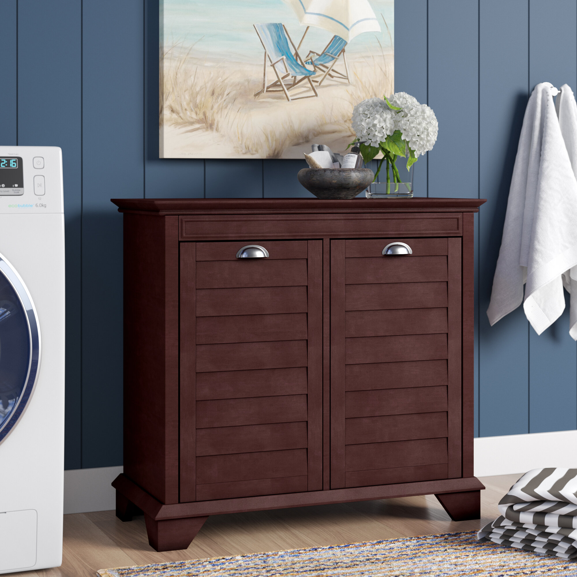 Picture of: Laundry Hamper Cabinets You Ll Love In 2020 Wayfair