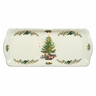 Goebel Weihnachtsgeschirr Weihnacht Service Servierplatte Platte oval 30cm x22cm