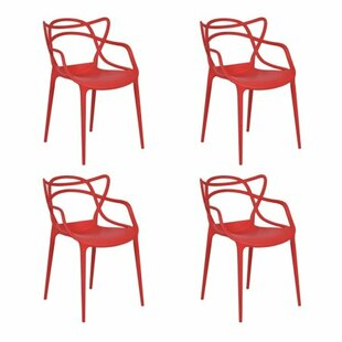 Poindexter Stacking Patio Dining Chair (Set of 4)