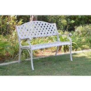 Lavisha Aluminum Garden Bench