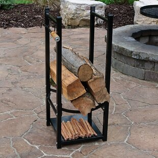 Superbe Caiden Fireside Log Rack With Tool Holder