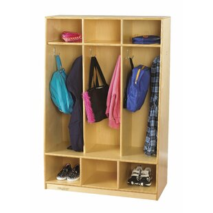 Superieur 3 Section Coat Locker