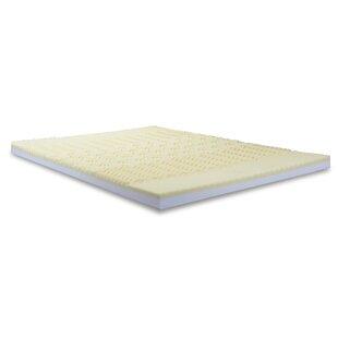Alwyn Home Convoluted Foam Combination Mattress Topper