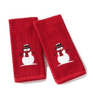 Britton Winter Cotton Hand Towel (Set of 2)