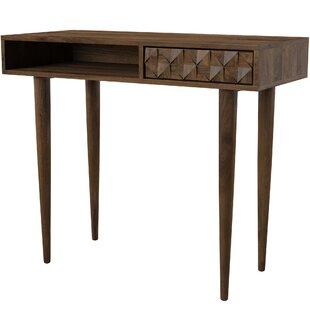 Banach Solid Wood Writing Desk