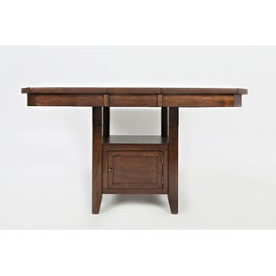 Abarca Wooden Dining Table Charlton Home