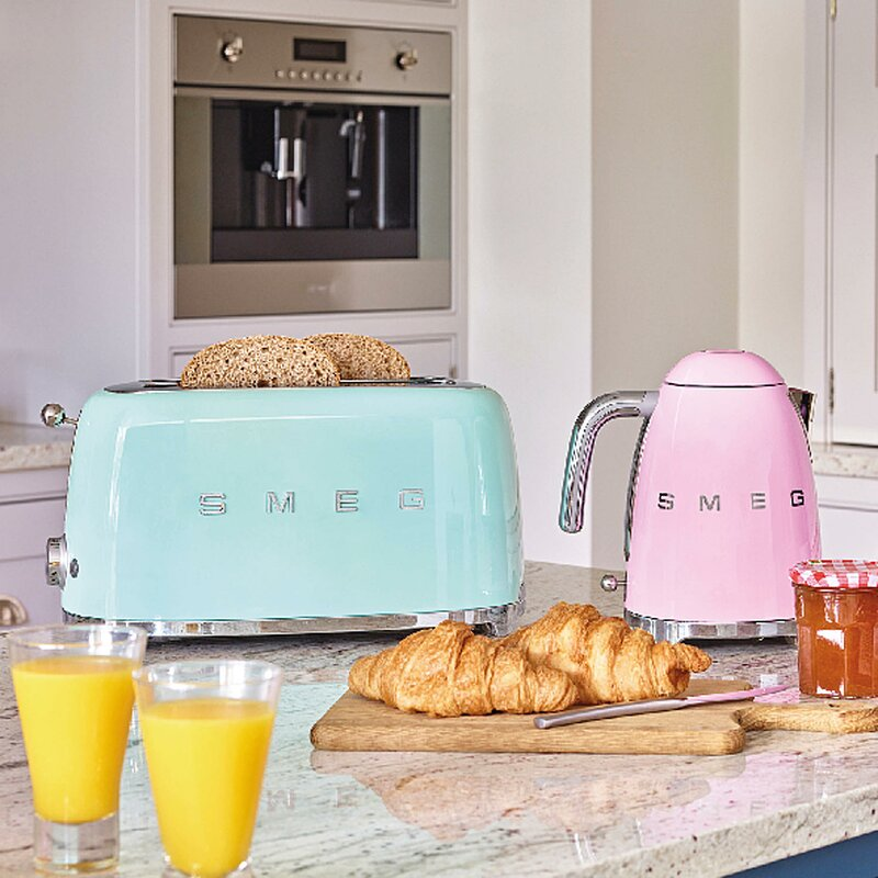 50s Style 4-Slice Toaster