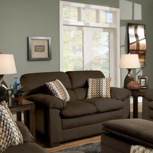 Bargain Britton Loveseat by Simmons Upholstery by Red Barrel Studio Reviews (2019) & Buyer's Guide