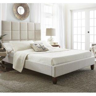 Latitude Run Batelov Upholstered Platform Bed